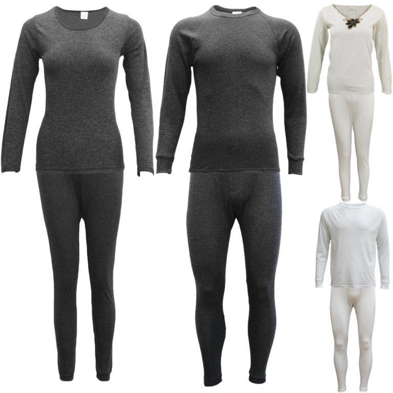 Merino Wool Sleepwear, Mens Womens 2PCS SET Merino Wool Top Pants Thermal Leggings Long Johns Underwear, Zmart Australia