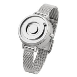 Women's Fashion Magnetic Quartz Cascual Gold Silver Wrist Watch stainless steel