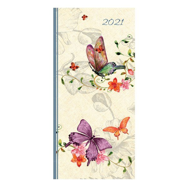 Belle Faune 2021 Premium Pocket Hard Cover Diary Planner Christmas New Year Gift