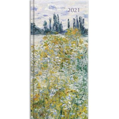 Monet 2021 Premium Pocket Hard Cover Diary Planner Christmas Xmas New Year Gift