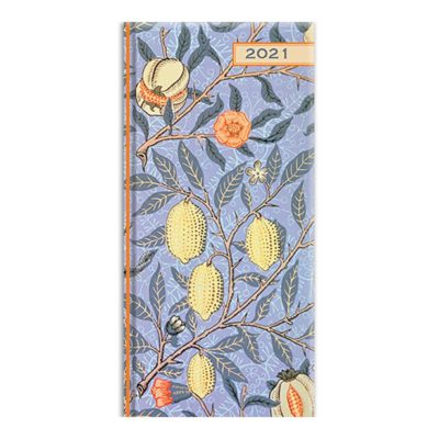 William Morris - 2021 Premium Pocket Hard Cover Diary Planner Xmas New Year Gift