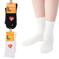 6x Women's Cotton Cushioned Loose Diabetic Top Socks Medical Wide Circulation