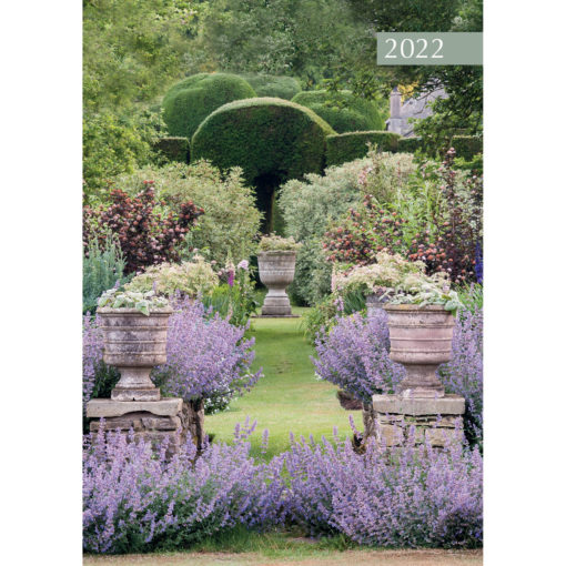 Beautiful Gardens 2022 Premium A5 Padded Cover Diary Planner Christmas New Year