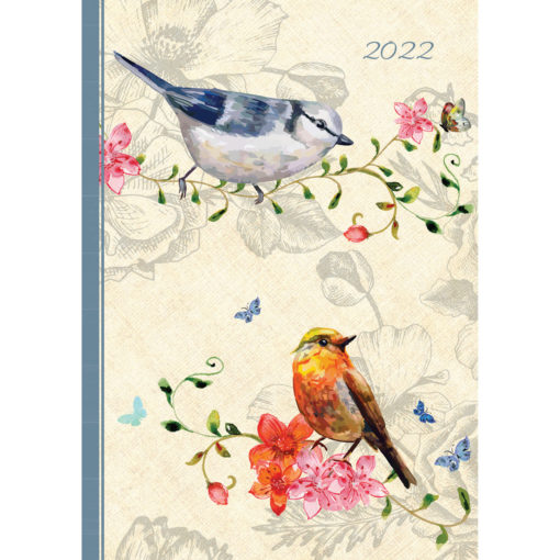 Belle Faune - 2022 Premium A5 Padded Cover Diary Planner Christmas New Year Gift