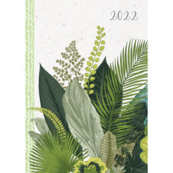 Botanicals - 2022 Premium A5 Padded Cover Diary Planner Christmas New Year Gift