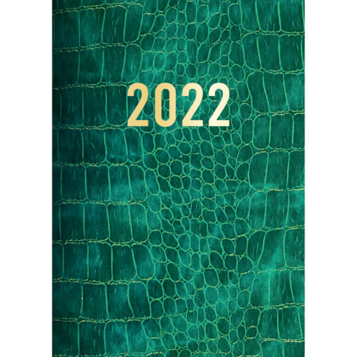 Croc Print - 2022 Premium A5 Padded Cover Diary Planner Christmas New Year Gift