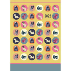 Dot the Dog - 2022 Premium A5 Padded Cover Diary Planner Christmas New Year Gift