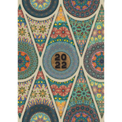Mandala - 2022 Premium A5 Padded Cover Diary Planner Christmas New Year Gift